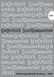 Schützengesellschaft Lenzburg • 1464 2/09 - SG Lenzburg