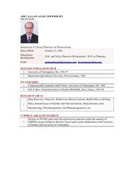 ABUL KALAM AZAD CHOWDHURY PROFESSOR Department of ...