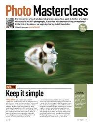 keep it simple - Mark Carwardine