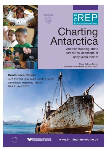 Charting Antarctica - Small Size