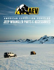 Download Catalog - American Expedition Vehicles