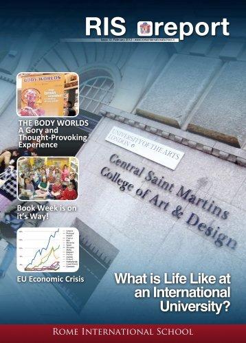 Issue 12 - Rome International School