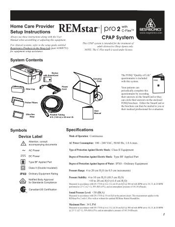 Respironics Cpap Remstar Plus With C Flex Impact