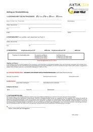 1) lieferanschrift des auftraggebers - Stadtwerke Bad Tölz GmbH