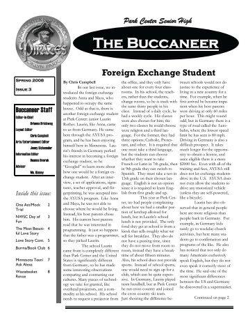 The Buccaneer - Osseo Area Schools