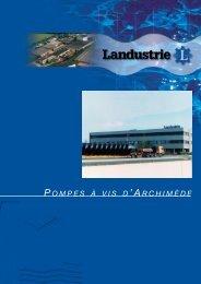 pompes à vis d 'archimède - Landustrie