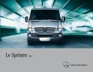Le Sprinter 2013 - TheSprinter.ca
