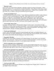 Tüberküloz Hakkında Temel Bilgiler - UNHCR