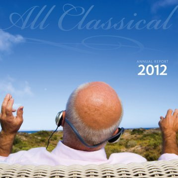 2012 Annual Report - All Classical Portland