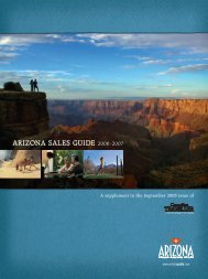 why arizona? - Canadian Traveller
