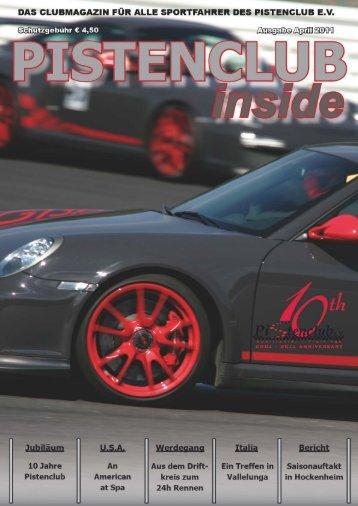 """INSIDE"" MAGAZIN April/2011 (PDF) - Pistenclub"