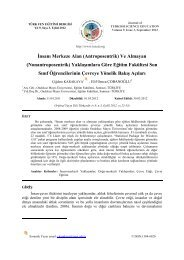 Journal article - Journal of Turkish Science Education