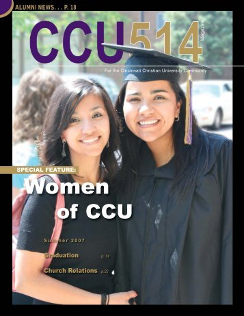 of CCU - Cincinnati Christian University