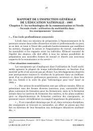 rapport de l'inspection generale de l'education nationale 1997 - HAL