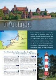 Eine Reise in die einstigen deutschen Ostgebiete mit ihren ...