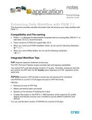 Enhancing Daily Workflow with PS/M 7.1 - Kodak