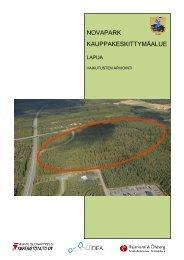 NOVAPARK KAUPPAKESKITTYMÄALUE - Etelä-Pohjanmaan liitto