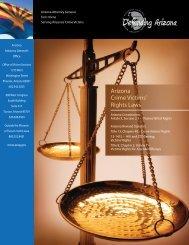 Crime Victims' Rights - Arizona Attorney General