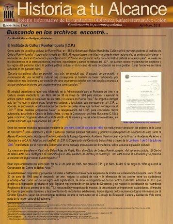 Boletín Informativo Edición Núm. 2 Vol. 1 - Abril a Mayo 2012