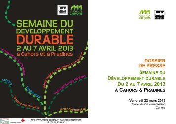 Semaine du Développement durable - Cahors