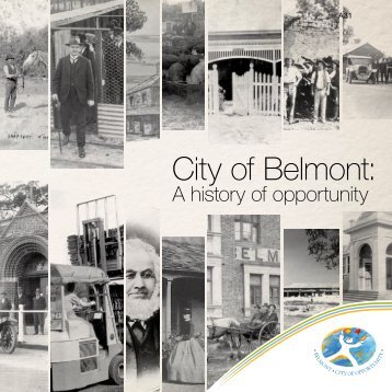 City of Belmont: A History of Opportunity