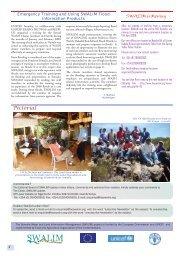 SWALIM Update, Issue #9 March 2009