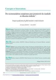 PDF (64.87 KB) - Pédagogie médicale