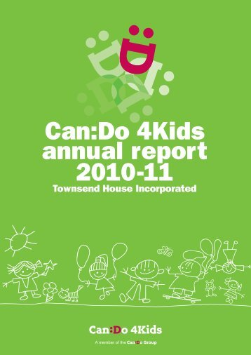 134th Annual Report 2010/2011 - CanDo4Kids