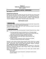 Pelajaran 1 SOM GBI Lembah Pujian Denpasar Kelas : Dasar II ...