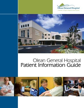 Patient Information Guide - Olean General Hospital