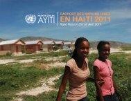 AYITI AYITI - UN Haiti