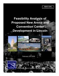 Feasibility Analysis of Proposed New Arena and Convention Center ...