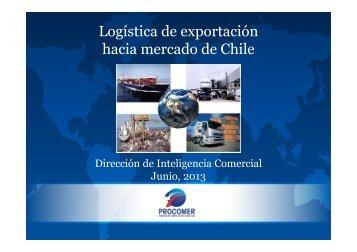 Logística de exportación Chile Jun 2013 - Procomer