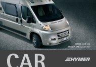 HYMER CAR 322 HYMER CAR 322 Gtline - Hymer AG