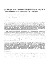 Accelerated Aging Test Methods for Predicting the Long Term ...