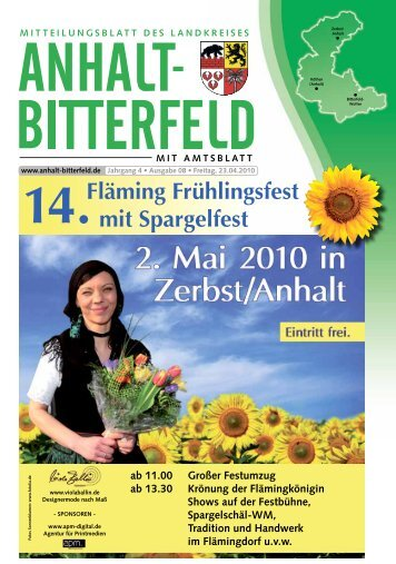 14.Fläming Frühlingsfest mit Spargelfest ab 11.00 ... - spatznews.de