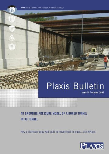 Plaxis Bulletin