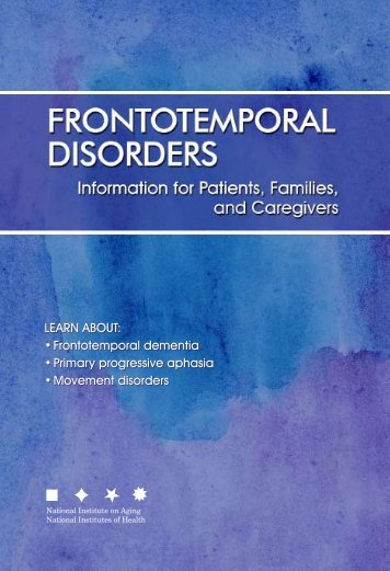 Frontotemporal Disorders - Center for Plain Language