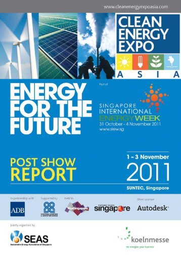 Download the CEEA 2011 post show report - Clean Energy Expo
