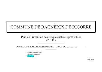 Règlement - Bagnères de Bigorre