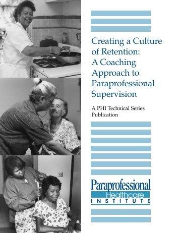 A Coaching Approach - PHI