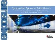 Symposium Sponsors & Exhibitors - istss