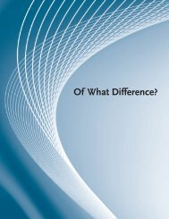 Of What Difference? - National Abortion Federation
