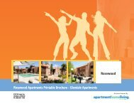 Rosewood Apartments Printable Brochure - Apartments For Rent