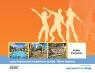 Legacy Bungalows Apartments Printable Brochure - Phoenix ...