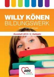 städtereisen - Willy Könen Bildungswerk