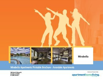Mirabella Apartments Printable Brochure - Apartments For Rent