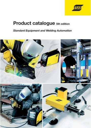 Product catalogue /Standard Equipment