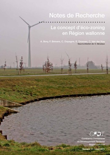 Notes de Recherche - CPDT Wallonie