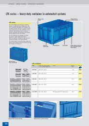 LTS series – heavy-duty container in automated ... - SSI SCHAEFER